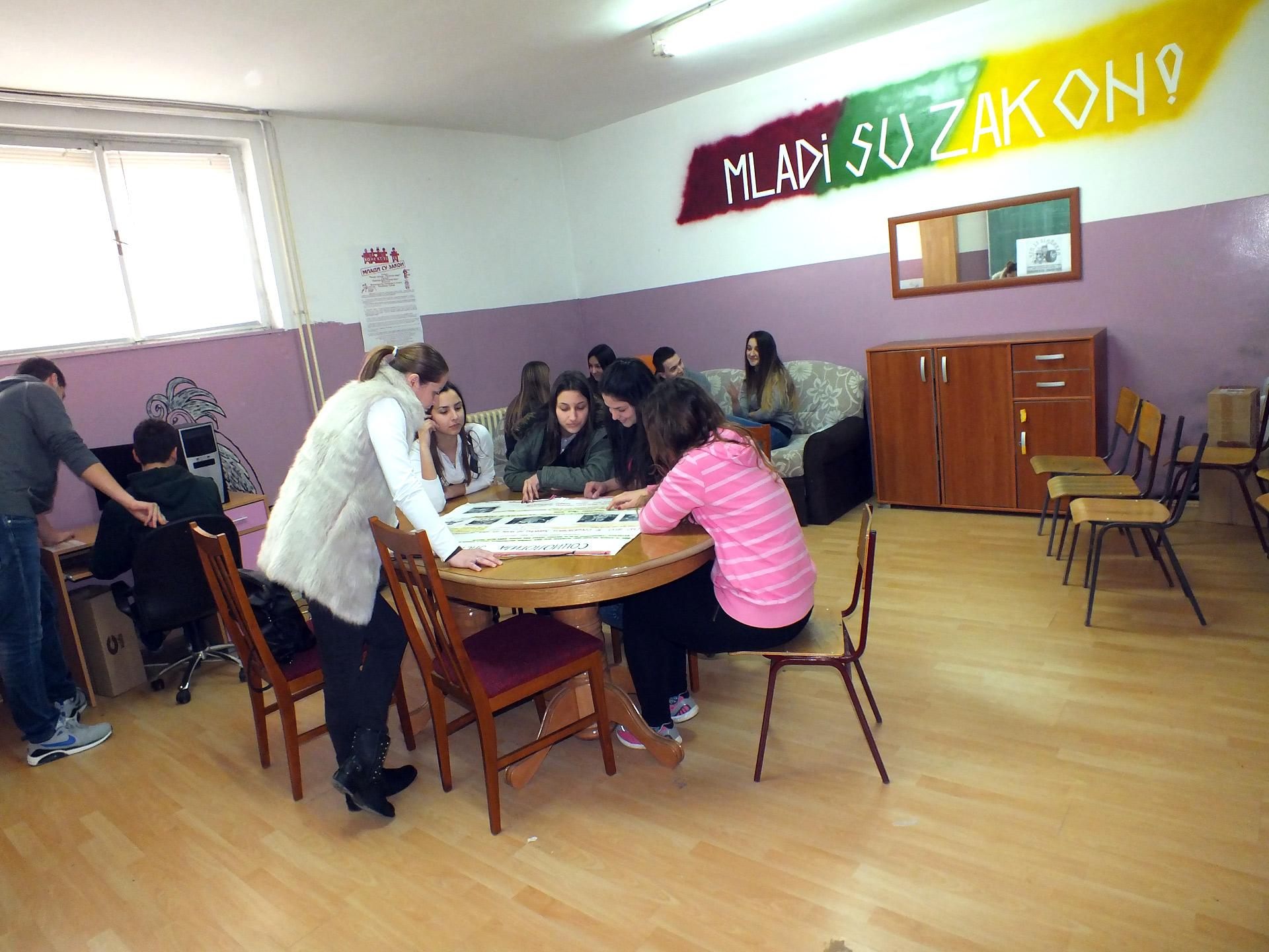 Кабинет за Ученички парламент
